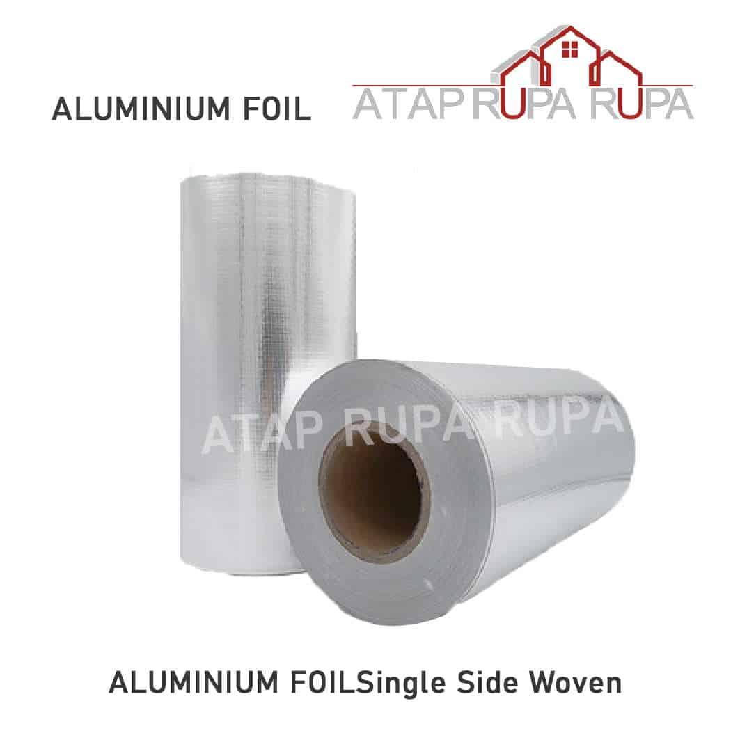 ALUMINIUM FOIL Single Side Woven