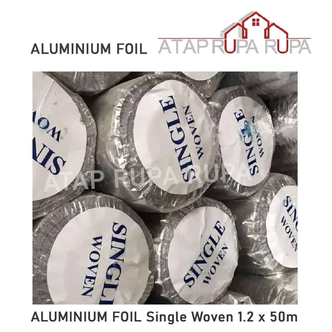 ALUMINIUM FOIL Single Woven 120 X 50