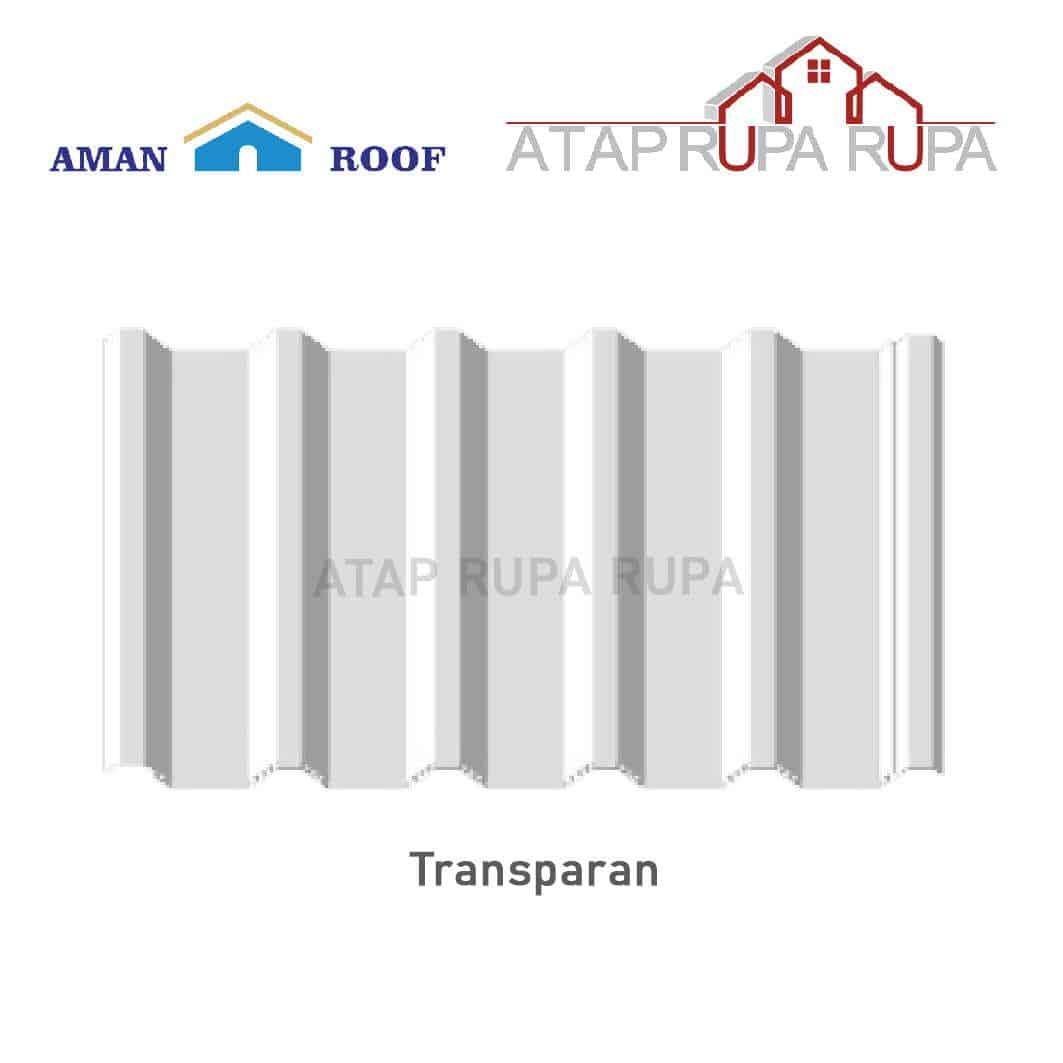 ATAP uPVC Aman Roof Transparan