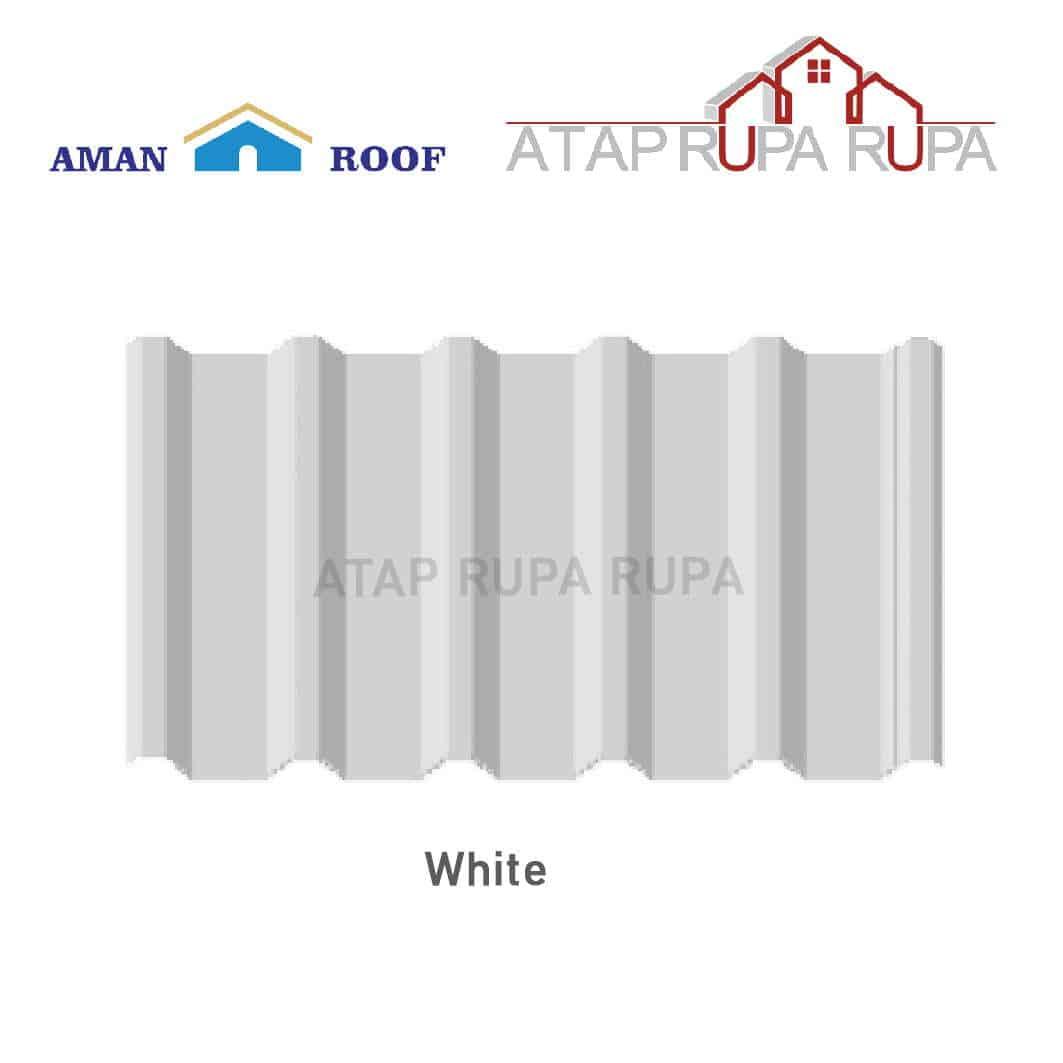 ATAP uPVC Aman Roof White