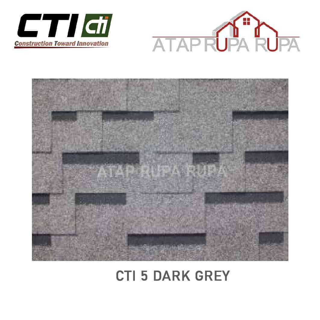 Atap Bitumen CT5 DARK GREY