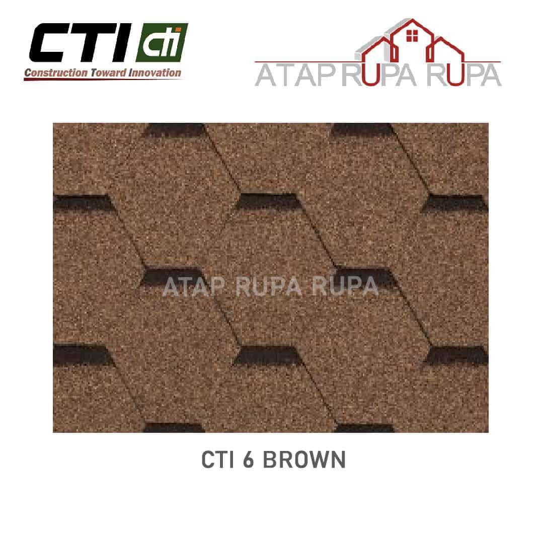 Atap Bitumen CT6 BROWN