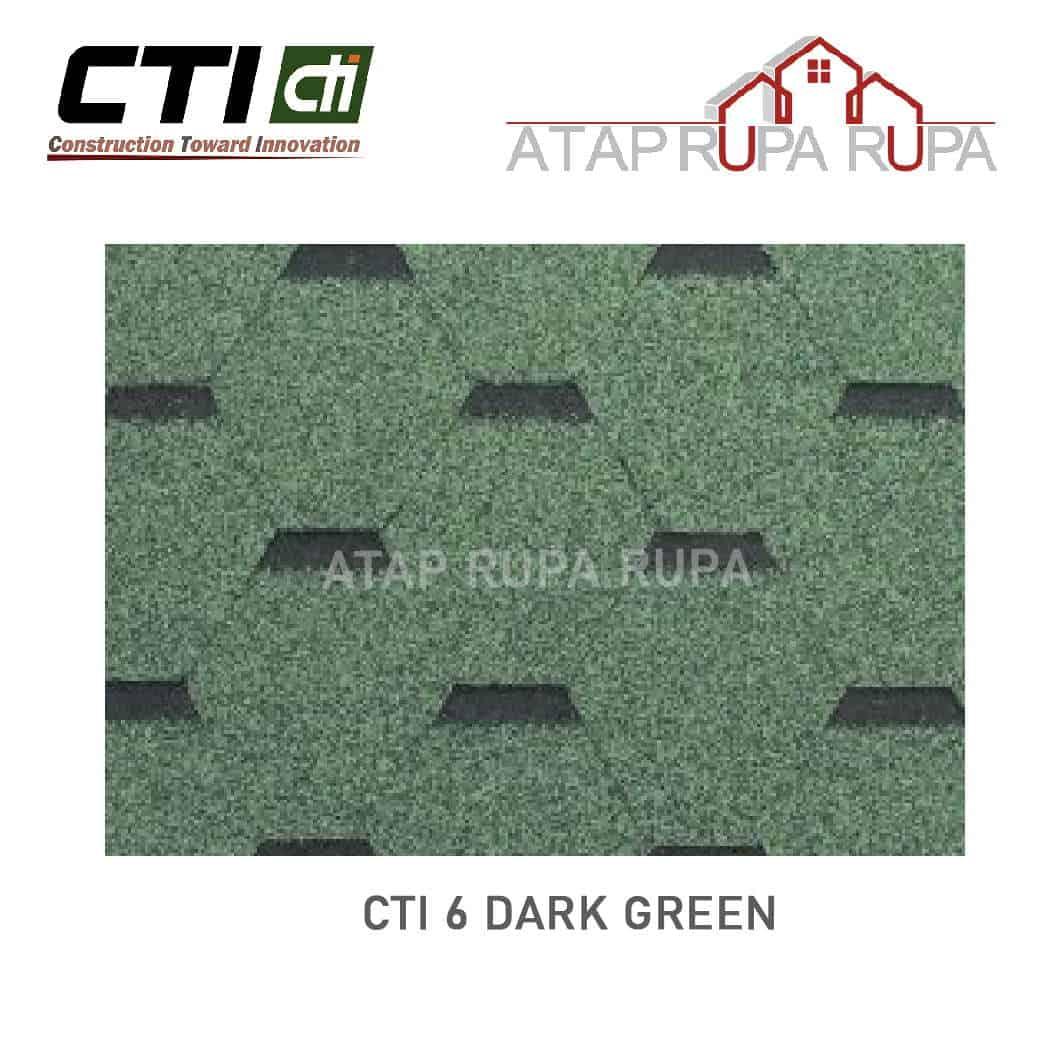 Atap Bitumen CT6 DARK GREEN