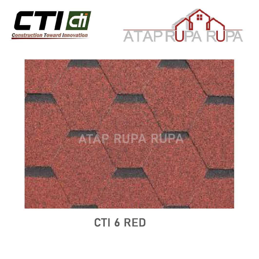 Atap Bitumen CT6 RED