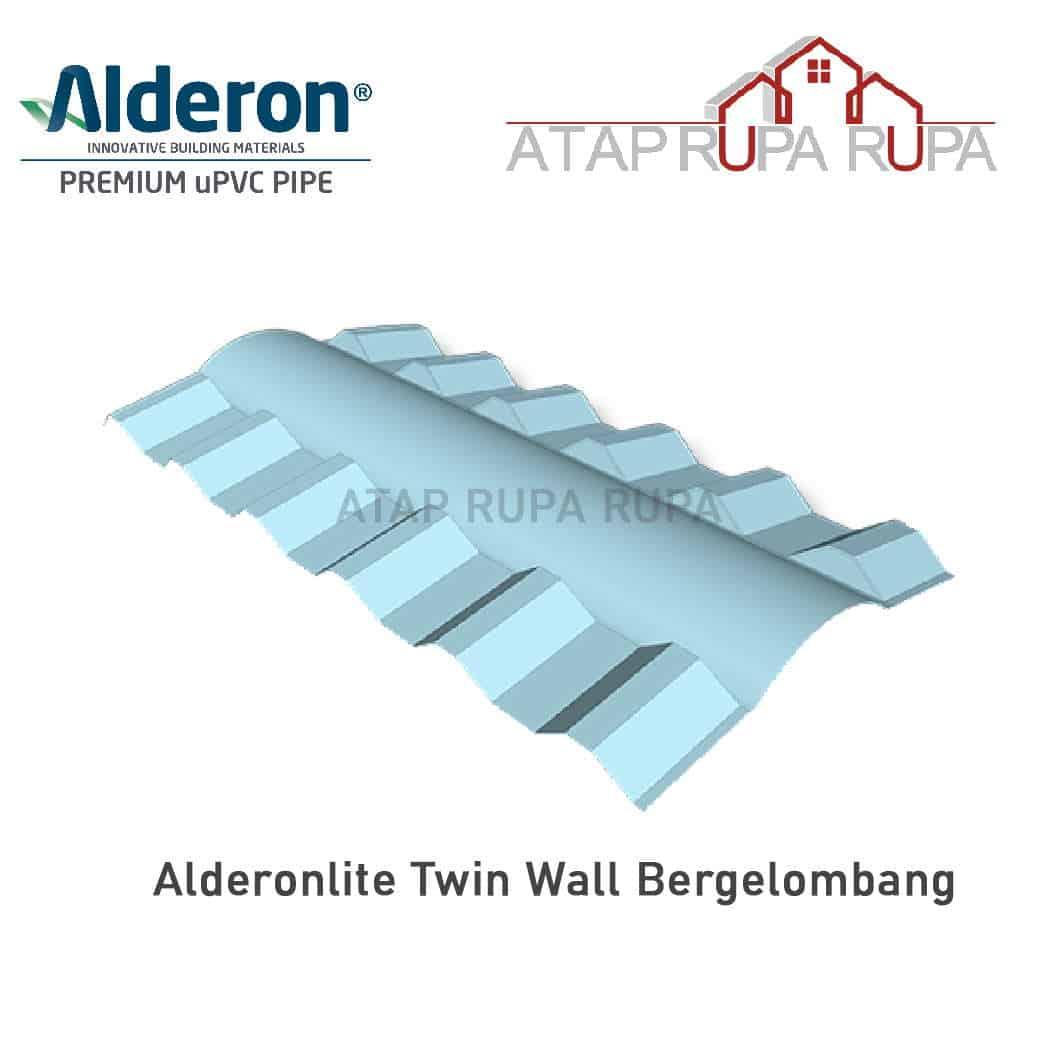 Atap uPVC ALDERON Wuwungan