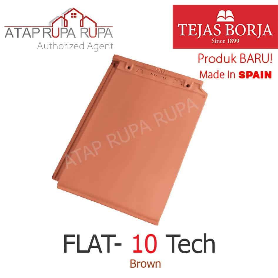 FLAT-10 Tech Brown 1