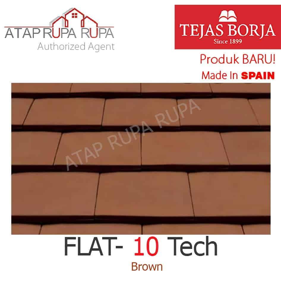 FLAT-10 Tech Brown 2