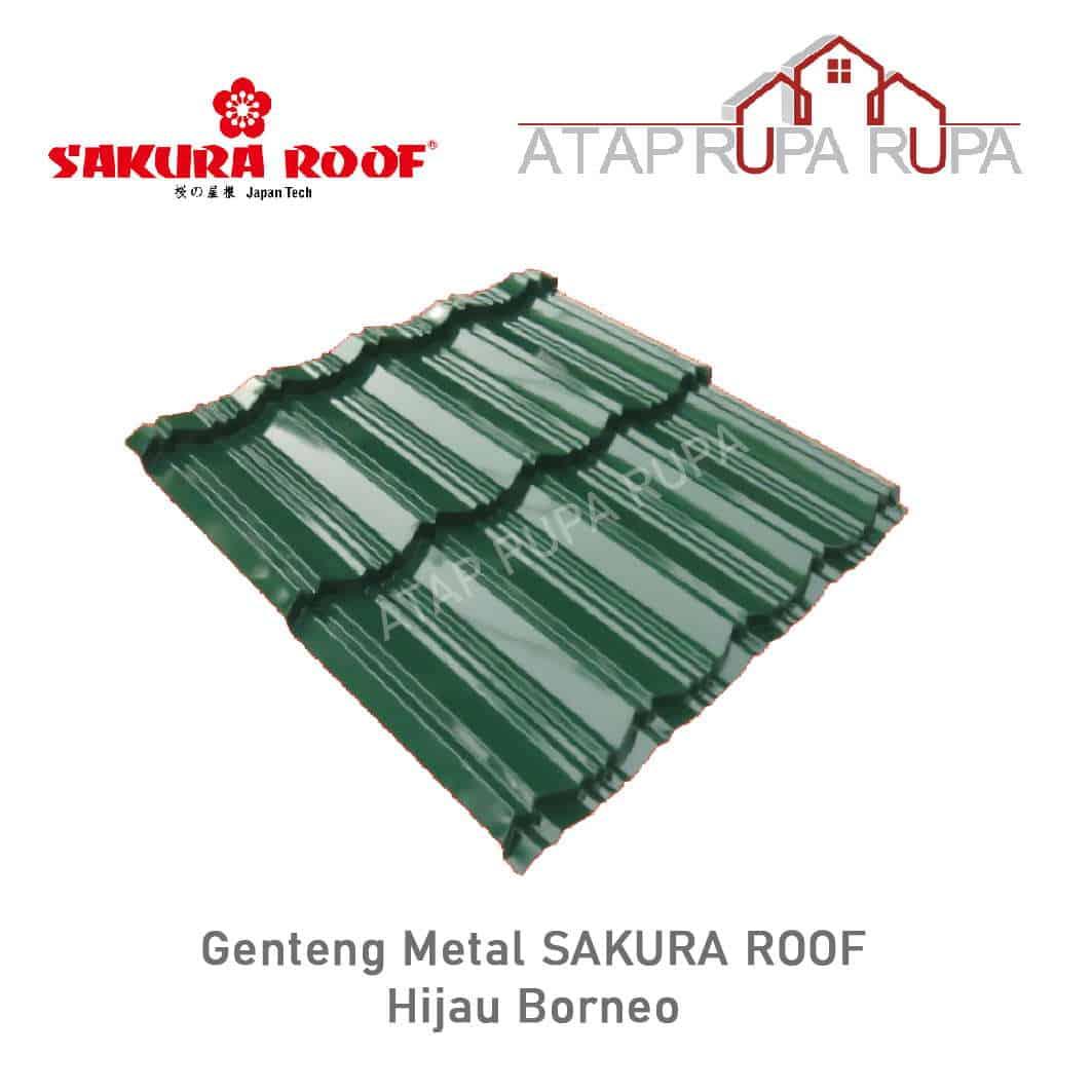 Genteng Metal Sakura Roof Hijau