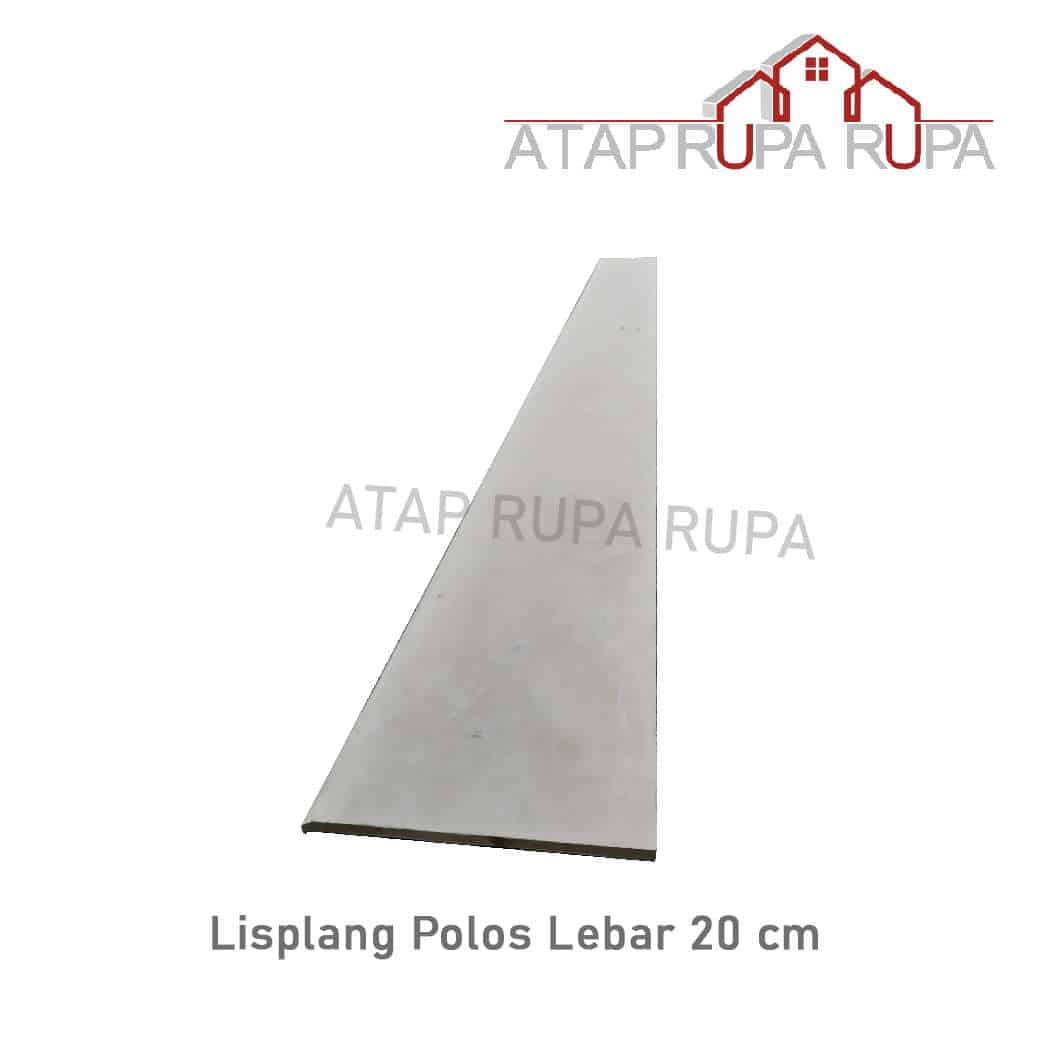 Lisplang Polos Lebar 20 cm