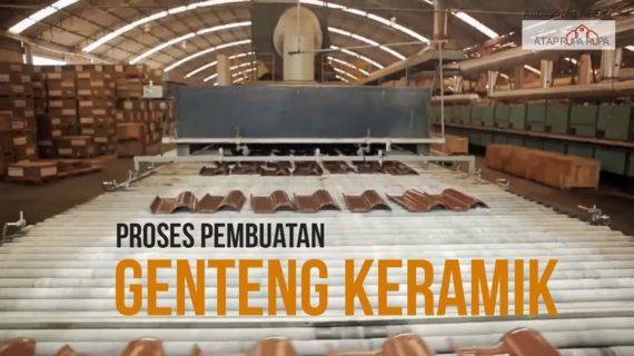Proses Pembuatan Genteng Keramik