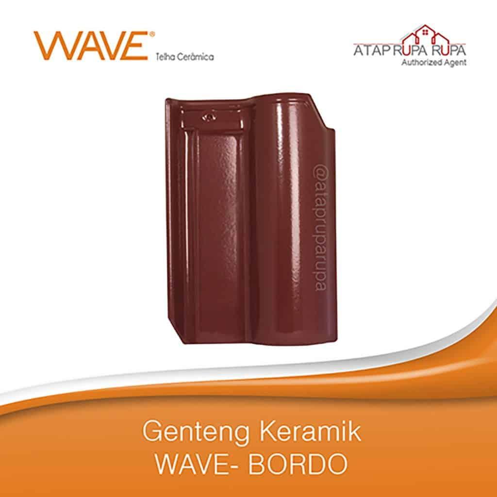 Genteng Wave Bordo